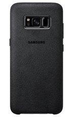Etui Alcantara Cover do Galaxy S8 Srebrne (EF-XG950ASEGWW)