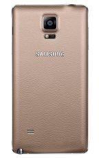 Samsung Tylna osłona Złota do Galaxy Note 4 EF-ON910SEEGWW