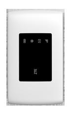 ZTE MF920T Biały Modem LTE Cat.4 z funkcją routera WiFi