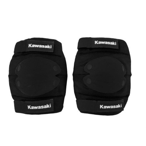Kawasaki komplet ochraniaczy na łokcie i kolana czarne rozmiar L
