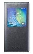 Etui Samsung S View Cover Grafitowe do Galaxy A5 EF-CA500BCEGWW