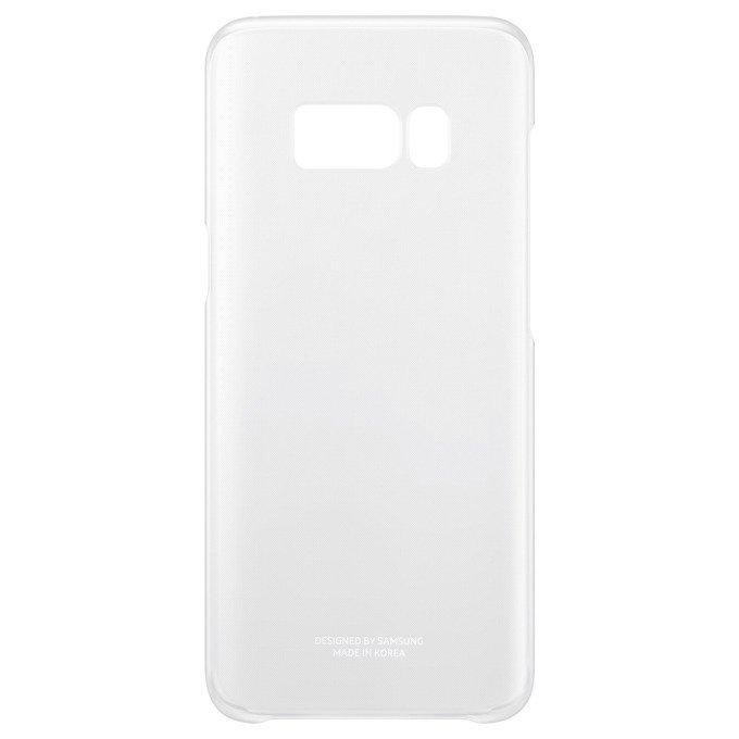 Etui Clear Cover do Galaxy S8+ Srebrne (EF-QG955CSEGWW)