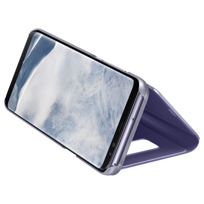 Etui Clear View Standing Cover do Galaxy S8+ Fioletowe (EF-ZG955CVEGWW)