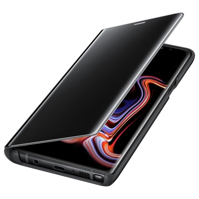 Etui Clear View Standing do Galaxy Note 9 Czarne (EF-ZN960CBEGWW)