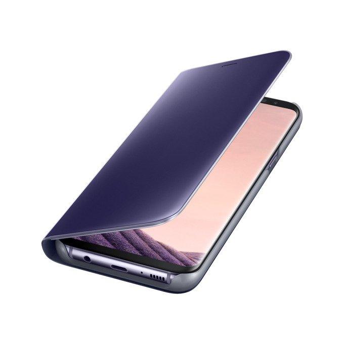 Etui Clear View cover do Galaxy S8+ Fioletowe (EF-ZG955CVEGWW)