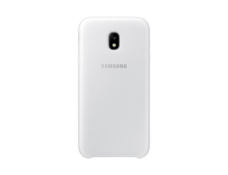 Etui Dual Layer Cover Białe do Samsung Galaxy J3 (2017) EF-PJ330CWEGWW