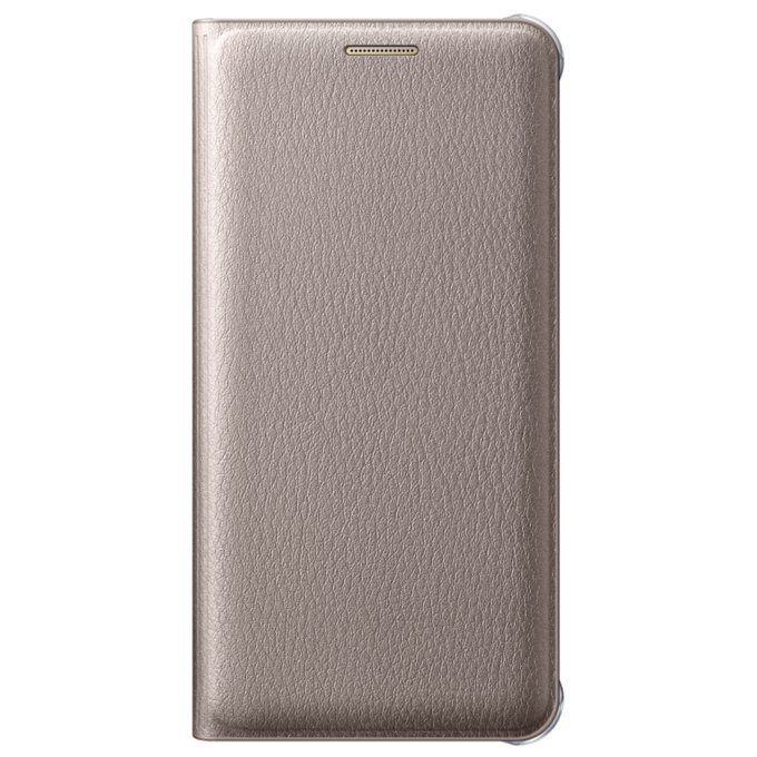 Etui Flip Wallet Złote do Galaxy A5 2016 (EF-WA510PFEGWW)