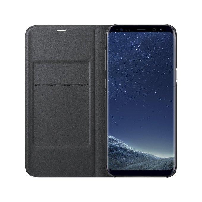 Etui LED View cover do Galaxy S8+ Czarne (EF-NG955PBEGWW)