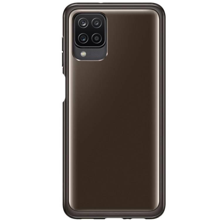 Etui Samsung CLEAR Cover Black do Galaxy A12 (EF-QA125TBEGEU)