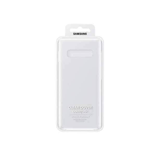 Etui Samsung CLEAR Cover Transparent do Galaxy S10+ (EF-QG975CTEGWW)