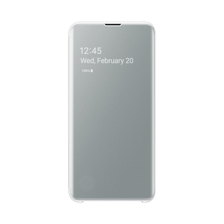 Etui Samsung CLEAR View Cover Biały do Galaxy S10e (EF-ZG970CWEGWW)