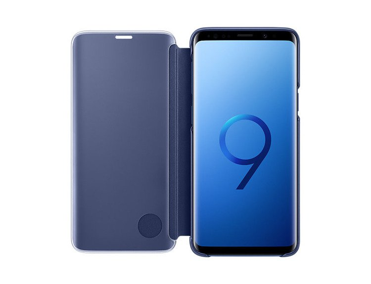 Etui Samsung Clear View Standing Cover do Galaxy S9+ Granatowe EF-ZG965CLEGWW