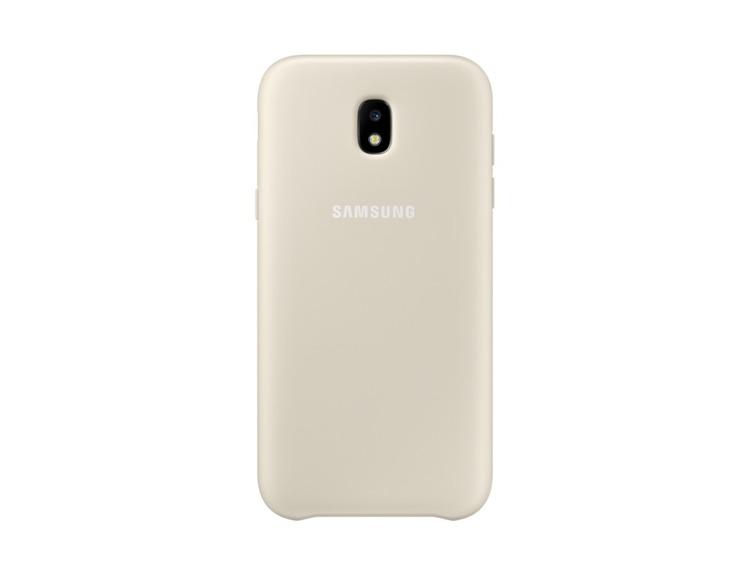 Etui Samsung Dual Layer Cover Złote do Galaxy J5 (2017) (EF-PJ530CFEGWW)
