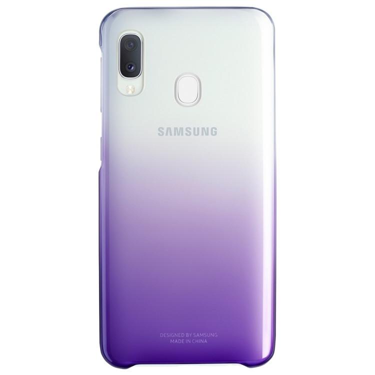 Etui Samsung Gradation Cover Fioletowe do Galaxy A20e (EF-AA202CVEGWW)