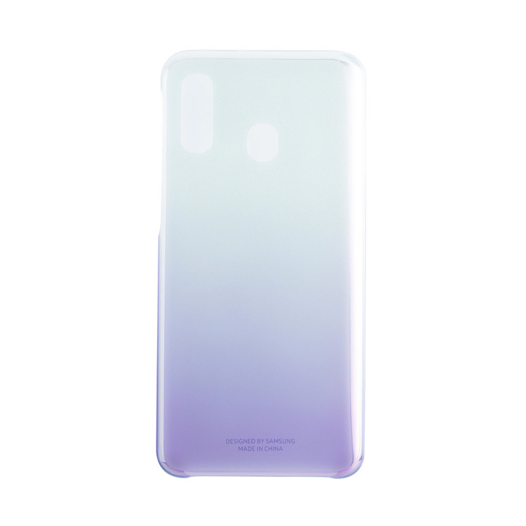 Etui Samsung Gradation Cover Fioletowe do Galaxy A40 (EF-AA405CVEGWW)