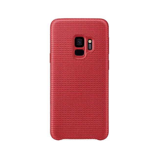 Etui Samsung Hyperknit Cover do Galaxy S9 Czerwone EF-GG960FREGWW