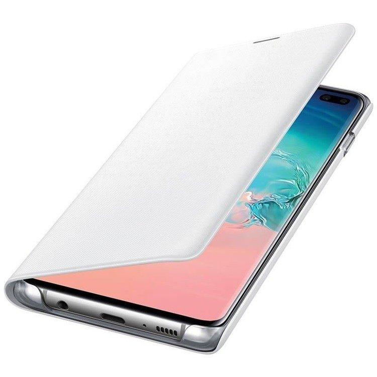 Etui Samsung LED View Cover Biały do Galaxy S10+ (EF-NG975PWEGWW)