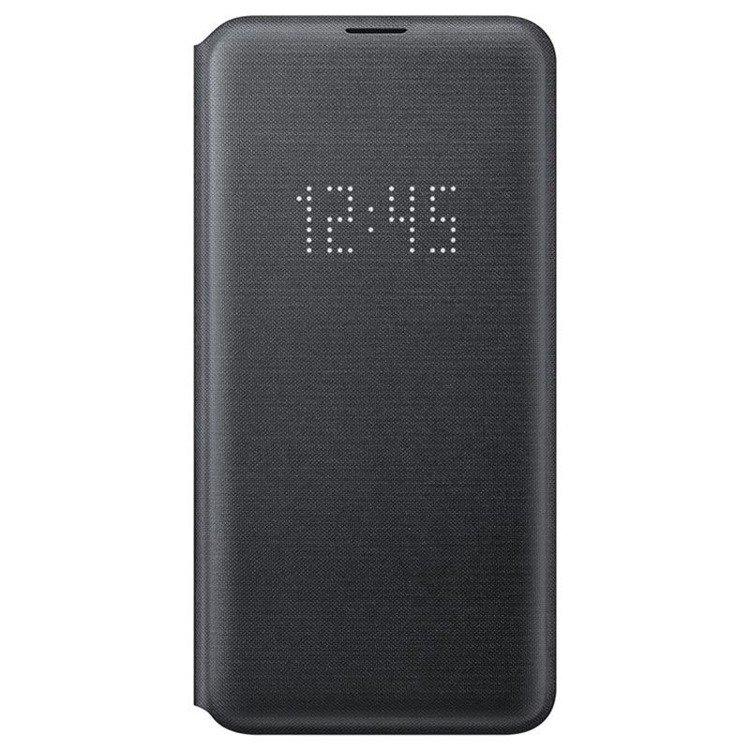 Etui Samsung LED View Cover Czarny do Galaxy S10e (EF-NG970PBEGWW)