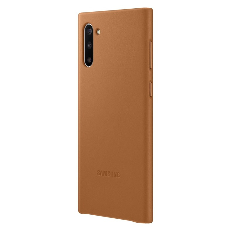 Etui Samsung Leather Cover Brązowy do Galaxy Note 10 (EF-VN970LAGGWW)