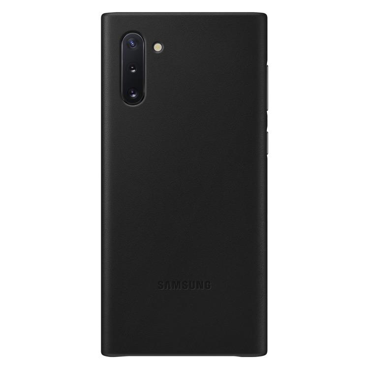 Etui Samsung Leather Cover Czarny do Galaxy Note 10 (EF-VN970LBEGWW)