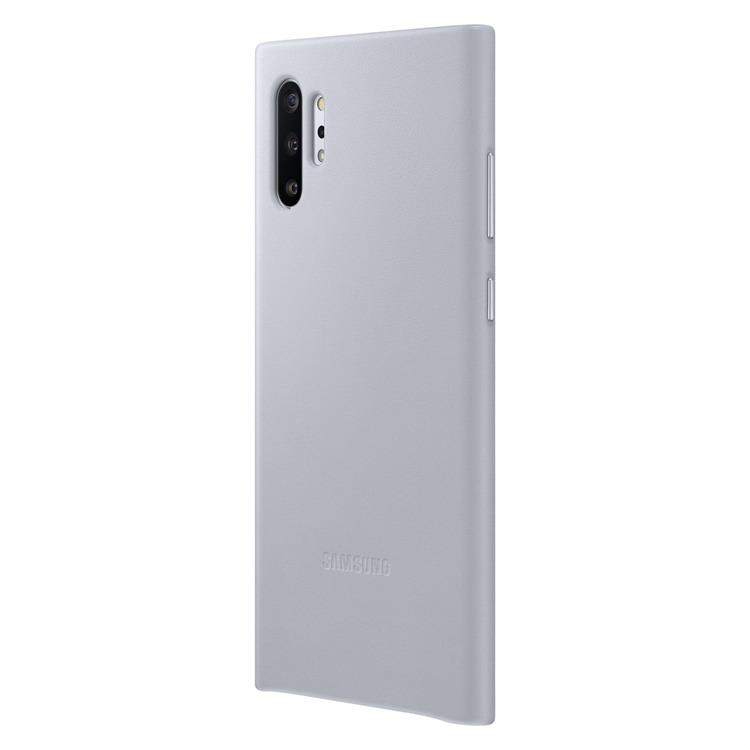 Etui Samsung Leather Cover Szare do Galaxy Note 10+ (EF-VN975LJEGWW)