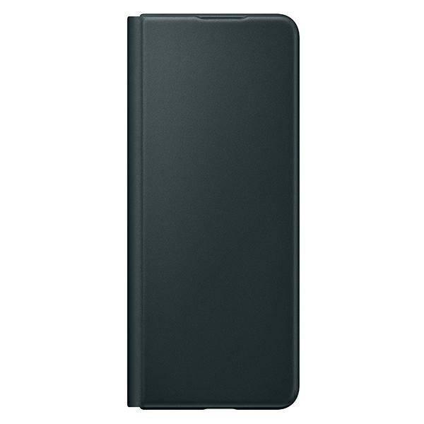 Etui Samsung Leather Flip Cover Zielony do Galaxy Z Fold3 5G (EF-FF926LGEGWW)