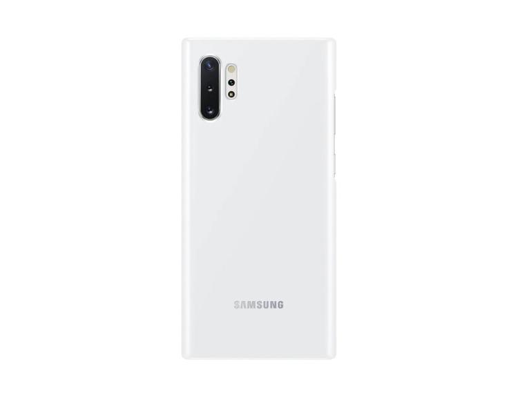 Etui Samsung Led Cover Biały do Galaxy Note 10+ (EF-KN975CWEGWW)