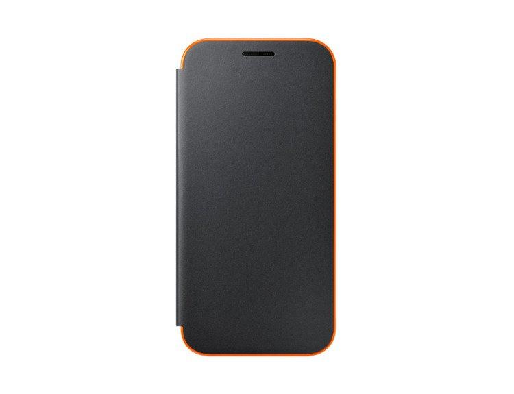 Etui Samsung Neon Flip Cover do Galaxy A5 2017 Czarne (EF-FA520PBEGWW)