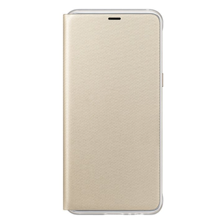 Etui Samsung Neon Flip Cover do Galaxy A8 2018 Złote