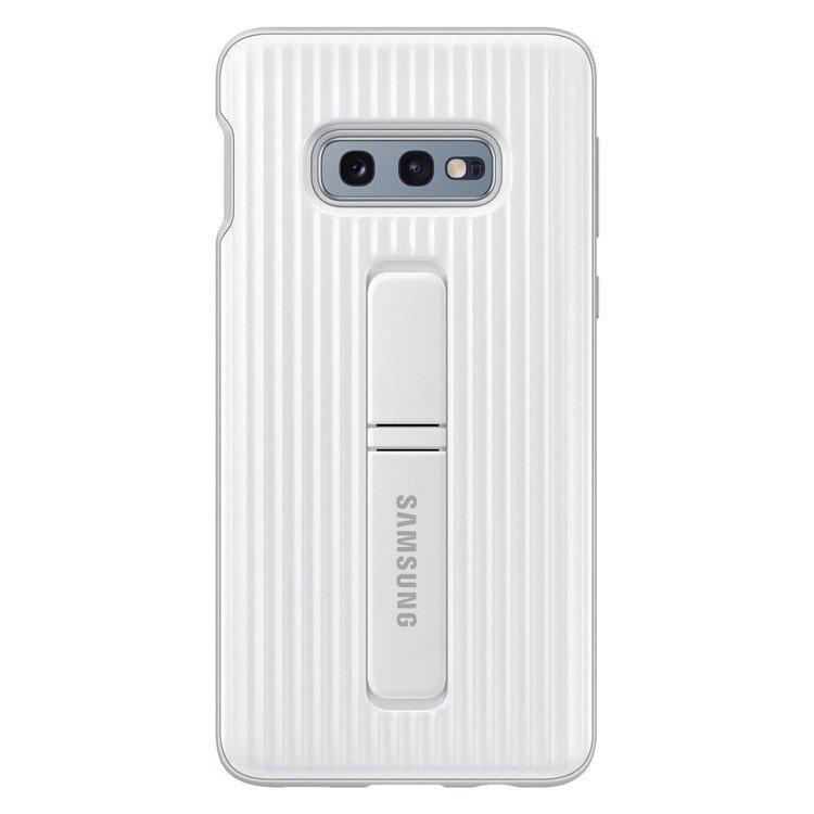 Etui Samsung Protective Standing Cover Biały do Galaxy S10e (EF-RG970CWEGWW)