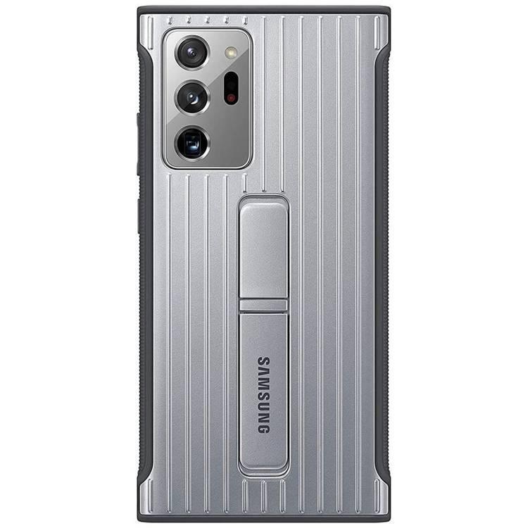 Etui Samsung Protective Standing Cover Srebrny do Galaxy Note 20 Ultra (EF-RN985CSEGEU)