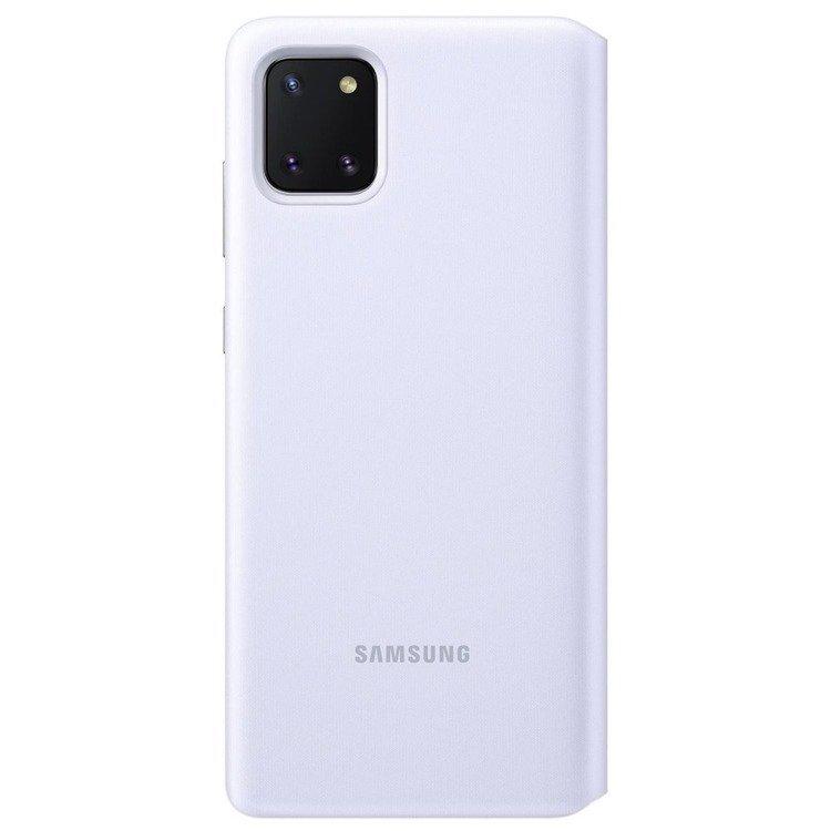 Etui Samsung S View Wallet Cover Białe do Galaxy Note 10 Lite (EF-EN770PWEGEU)