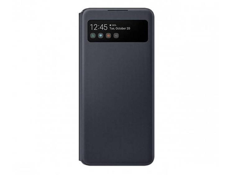 Etui Samsung S View Wallet Cover Czarne do Galaxy A42 (EF-EA426PBEGEE)