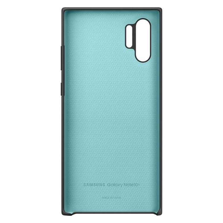 Etui Samsung Silicone Cover Czarny do Galaxy Note 10+ (EF-PN975TBEGWW)