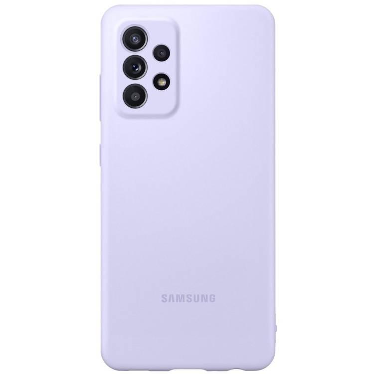 Etui Samsung Silicone Cover Fioletowy do Galaxy A52 (EF-PA525TVEGWW)