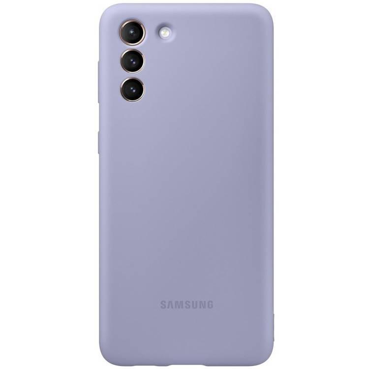 Etui Samsung Silicone Cover Fioletowy do Galaxy S21+ / S21+ 5G (EF-PG996TVEGWW)