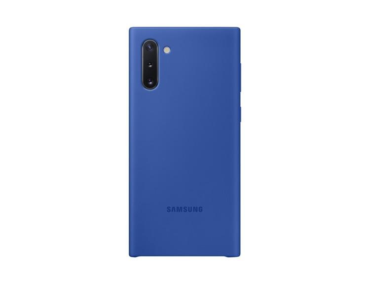 Etui Samsung Silicone Cover Niebieski do Galaxy Note 10 (EF-PN970TLEGWW)