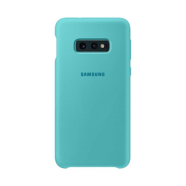Etui Samsung Silicone Cover Zielony do Galaxy S10e (EF-PG970TGEGWW)