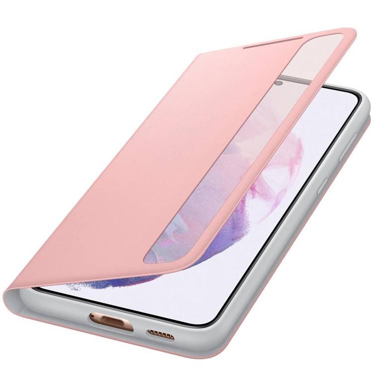Etui Samsung Smart CLEAR View Cover Różowy do Galaxy S21+ (EF-ZG996CPEGEW)