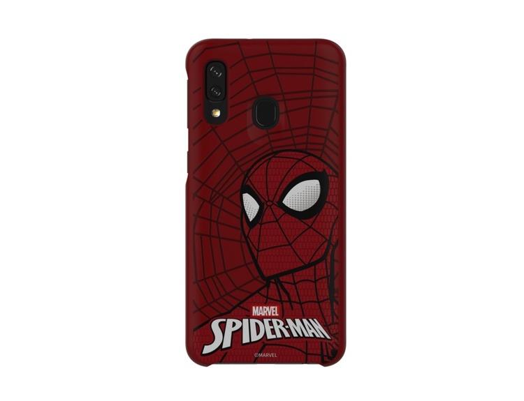 Etui Samsung Smart Cover Spiderman do Galaxy A40 (GP-FGA405HIBRW)