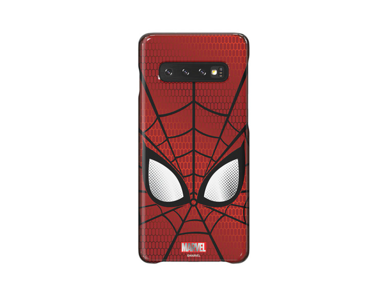 Etui Samsung Smart Cover Spiderman do Galaxy S10 (GP-G973HIFGKWD)