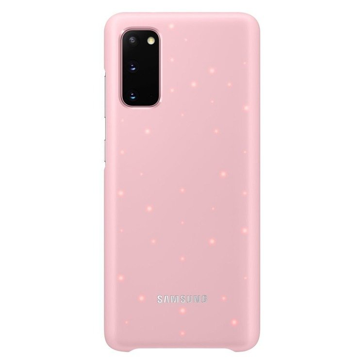 Etui Samsung Smart Led Cover Różowy do Galaxy S20 (EF-KG980CPEGEU)