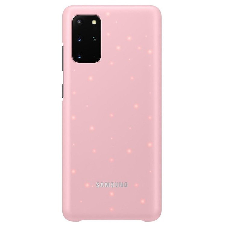 Etui Samsung Smart Led Cover Różowy do Galaxy S20+ (EF-KG985CPEGEU)
