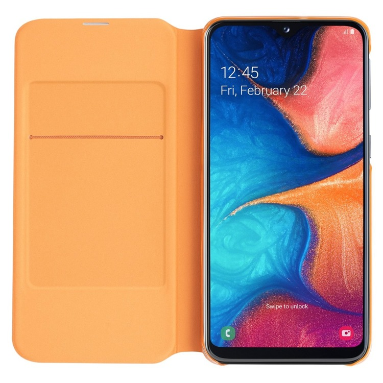 Etui Samsung Wallet Cover Białe do Galaxy A20e (EF-WA202PWEGWW)