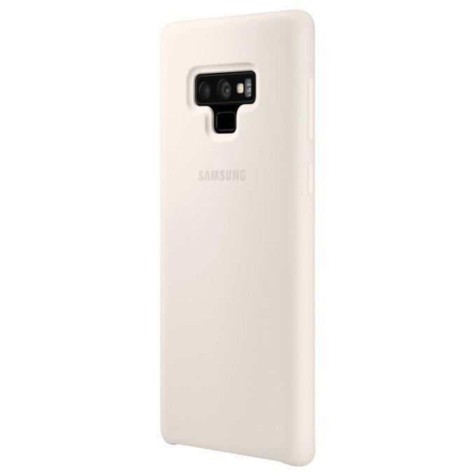 Etui Silicone Cover do Galaxy Note 9 Białe ( EF-PN960TWEGWW)