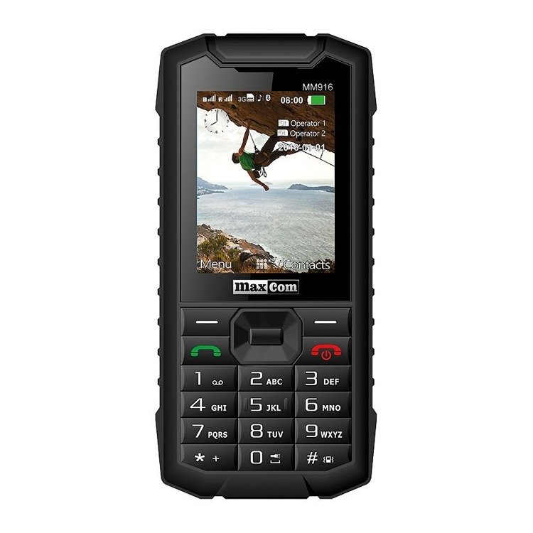 MAXCOM Strong MM916 Dual SIM Czarny