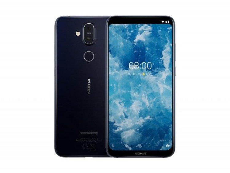 NOKIA 8.1 Niebieska Dual SIM 4/64GB LTE