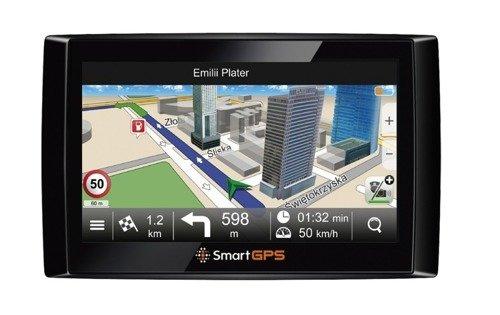 Nawigacja samochodowa SmartGPS SG732 + MapaMap TOP PL
