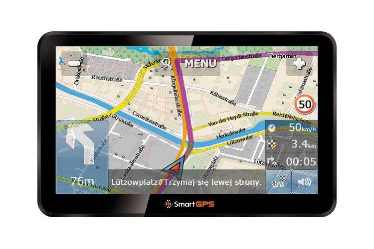 Nawigacja samochodowa SmartGPS SG770 OSM EU 7''