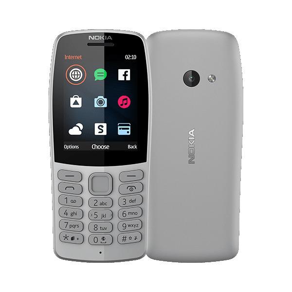 Nokia 210 Dual Sim Szara